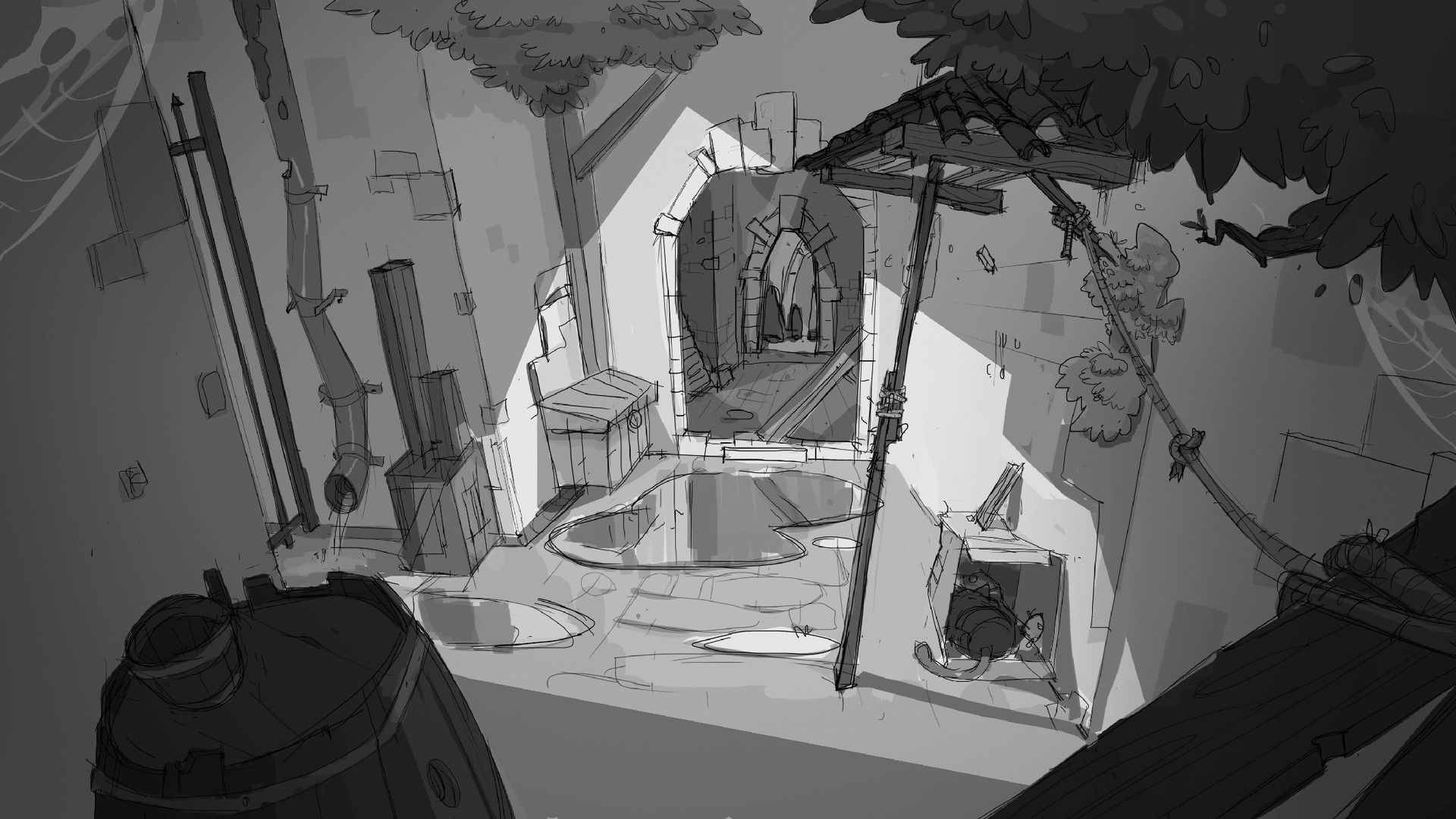 Artstation Story Concepts Part 1 Nikita Bulatov