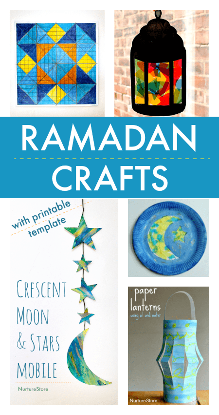 Easy Ramadan Crafts For Children Ramadan Crafts And Activities