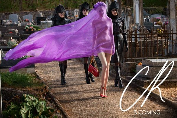 A First Look Inside CR Fashion Book: Whose Funeral Is Carine Celebrating