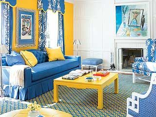 This is my dream living room. Not the colors tho. But same concept