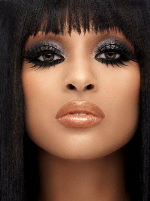 Black Women Eye Makeup Dramatic - Eye Makeup Design   Makeup Musts ...