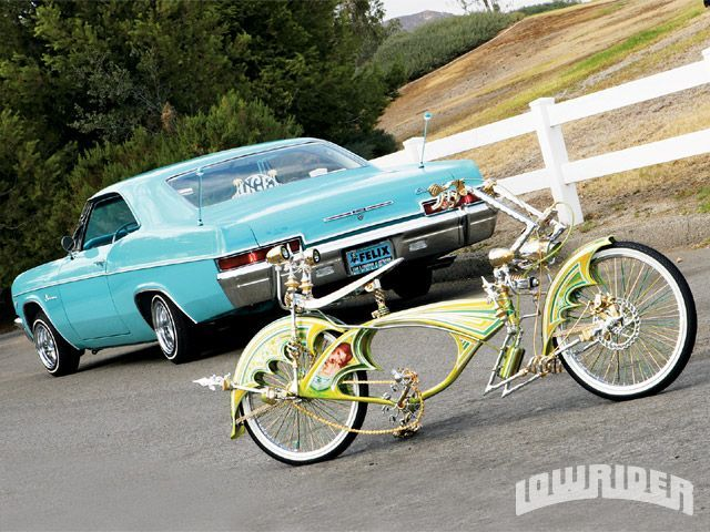 Custom Lowrider Bicycle Frames Isaiah hopper of uce car club | low ...