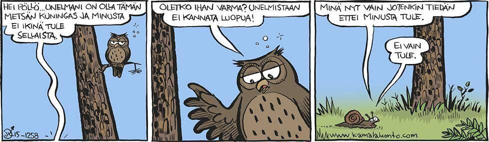 Kamala luonto - Sarjakuvat - Ilta-Sanomat