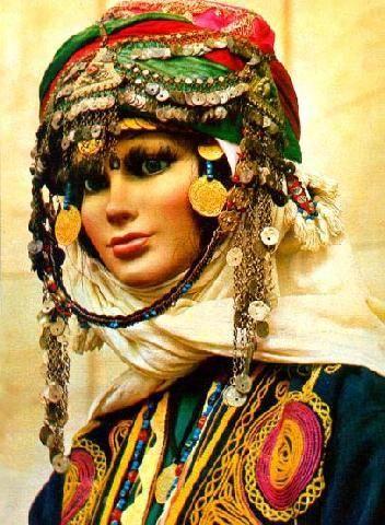 kozak Turkish headdress   Tribal & Vivid Things, 2019   Kadın