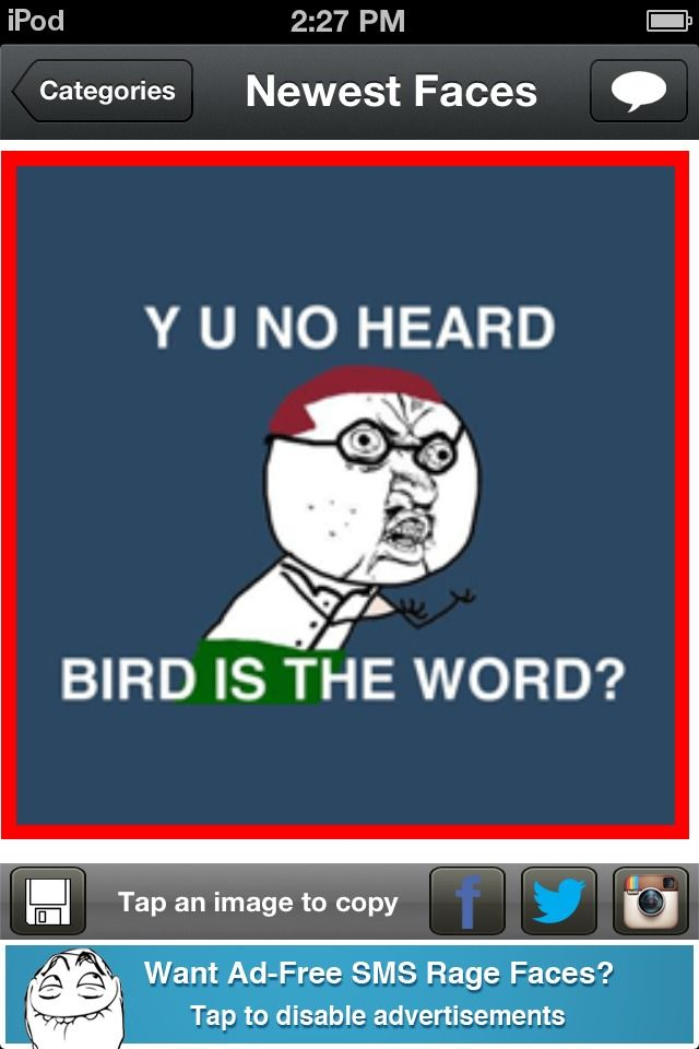 Bird Is The Word Episode : episode, Episode, Family, Faces,, Wanted, Words