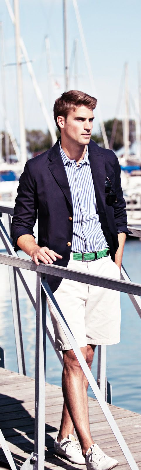 Classically Styled for Yachting #menstyle #yachting #yachtcouture