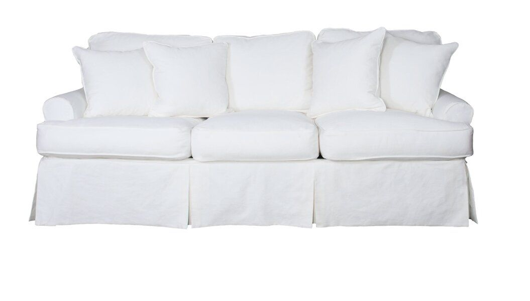 Telluride T Cushion Sofa Slipcover In 2020 Cushions On Sofa