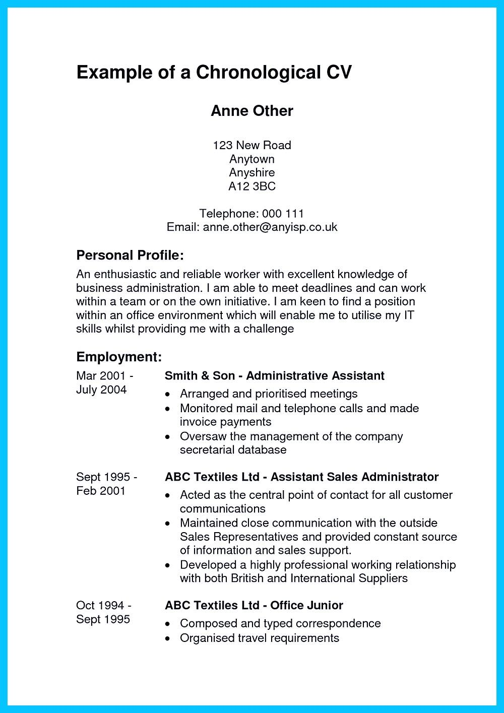 High Quality Entry Level Administrative Assistant Resume Samples Chronological Resume Administrative Assistant Resume Informative Essay