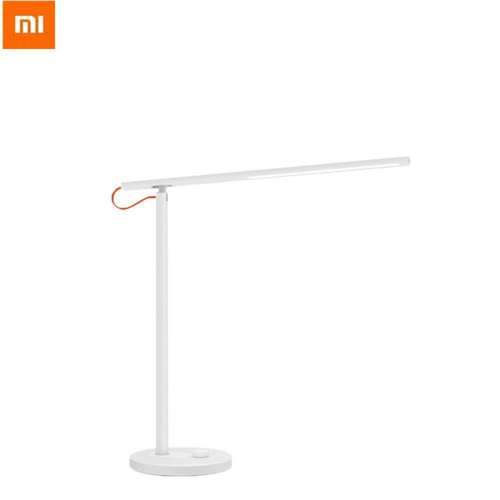 [Visit To Buy] Oringinal Xiaomi Mi LED Desk Lamp Smart Eyeshield Students  Bed Room Lamp Bedside Folding Lamp Reading Light Mijia APP Control