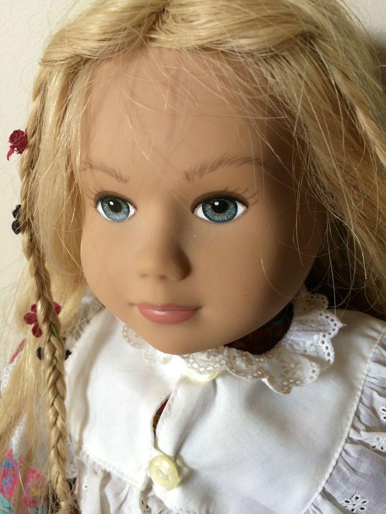 Sigikid 19 Doll West Germany Blonde Hair Blue Eyes 19 Tall Sigikid