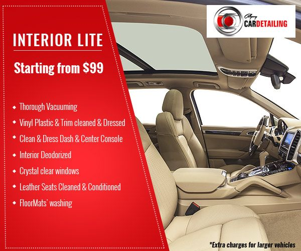 Avail Our Interior Packages And Get Your Car S Interiors Intensely Cleaned Plastic Trim Car Detailing Interior Seat Cleaner