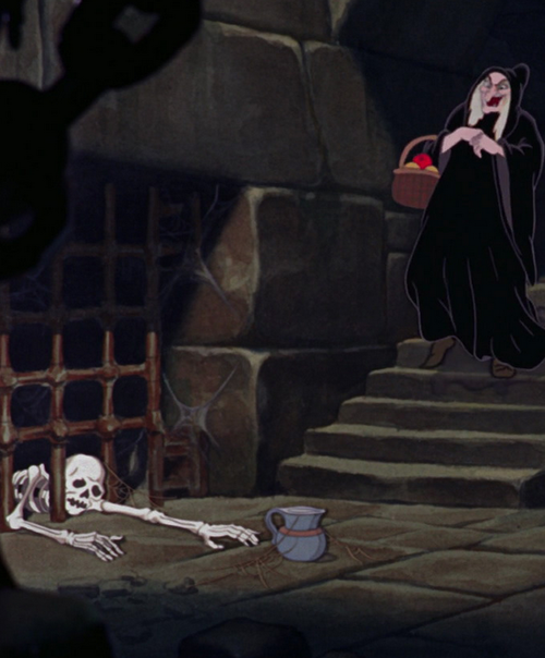 The bad Queen Witch - Snow White.