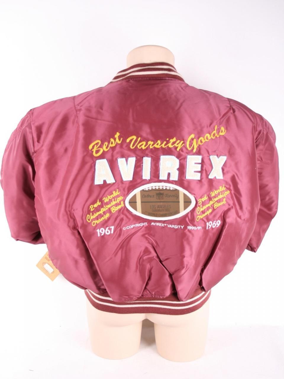 Avirex Varsity Bomber paninaro anni 80