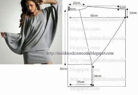 Moda e Dicas de Costura: BLUSA FÁCIL DE CORTAR E FAZER - 2