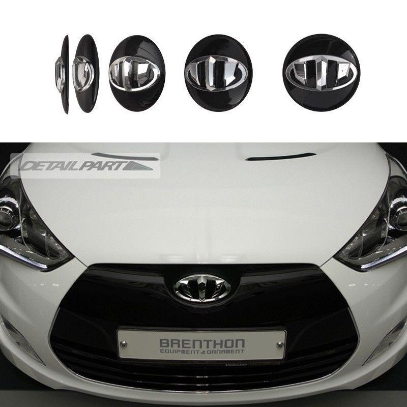 Brenthon Emblem Front Rear Horn Cap 3Pcs Fit: Hyundai 2015 2016 LF Sonata