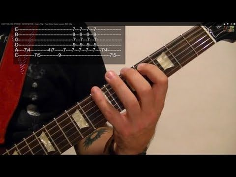 ▷ EASY ROLLING STONES! - SATISFACTION - How to Play - Free Online ...
