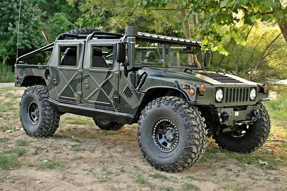 Hummer H1 Soft Top Gets Gas Mileage Not Good But Does Trucks