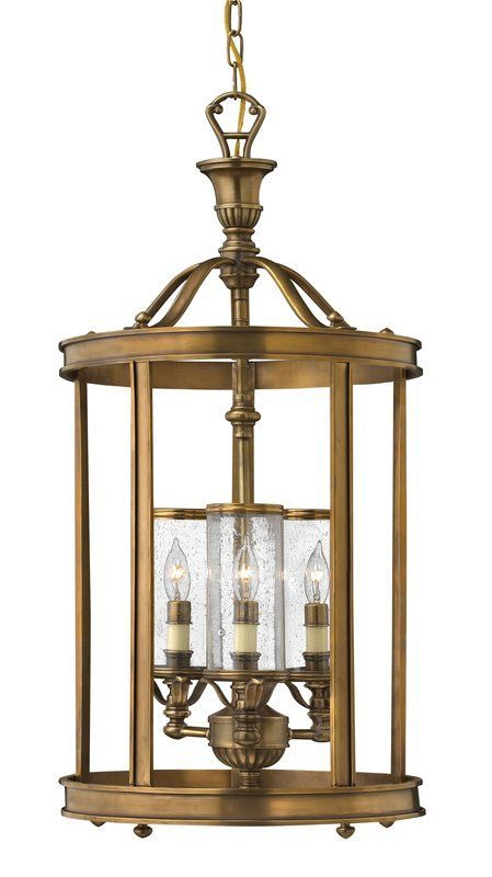 View The Hinkley Lighting H4184 3 Light Indoor Lantern Pendant From Knickerbocker Collection At LightingDirect