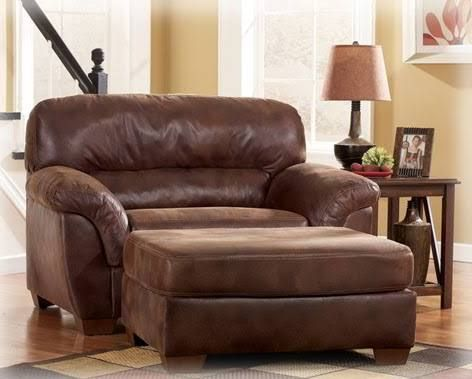Brown Leather Oversized Chair Google Search