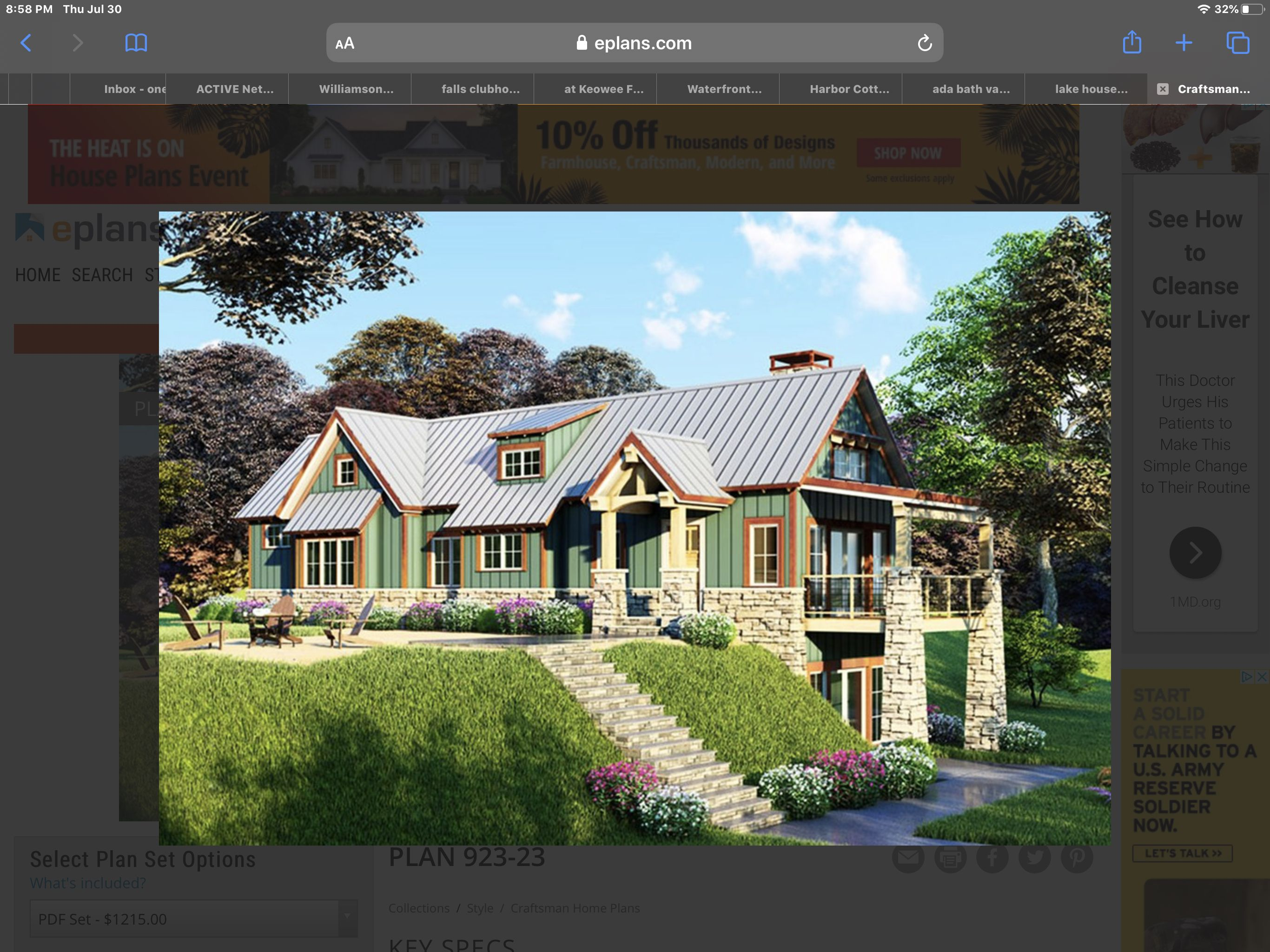 Exterior House Styles Lake House Mansions