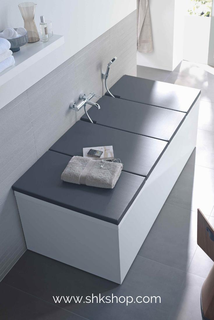 Duravit Wannenauflage 800x450mm 2 St Ck Mit Aussparung F R Brauseschlauch Badewannenabdeckung Badezimmer Design Badewanne Abdeckung