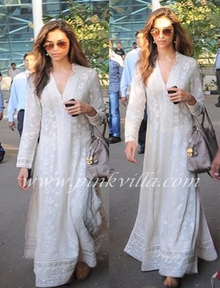 Deepika Padukone in Abu Sandeep | Fashion, Indian fashion ...