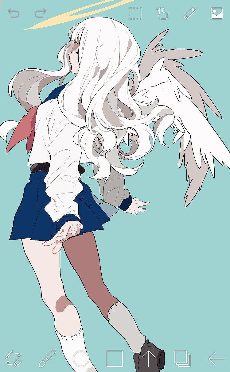 (1) Twitter Hahmotaide, Söpöt piirrokset, Kawaii anime