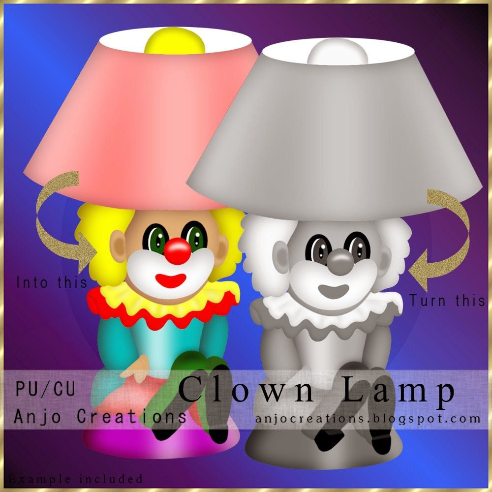 Cu Clown Lamp Template In Store Now You Find The Template At Low