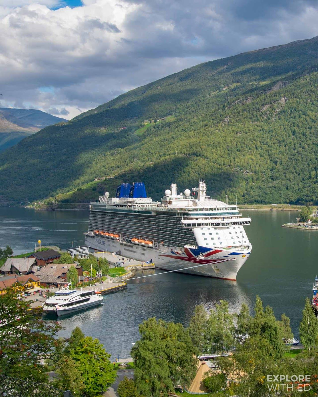 What S A Cruise To The Norwegian Fjords Like From Southampton Explore With Ed Norway Cruise Cruise Ship Cruise Travel