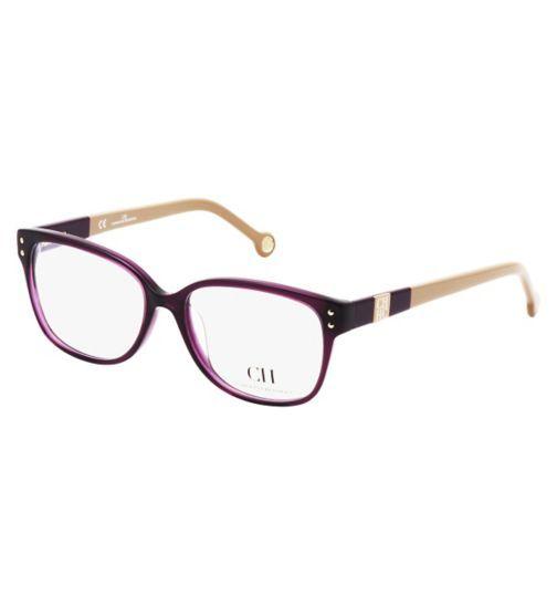 Carolina Herrera Womens Purple Glasses - Opticians - Boots