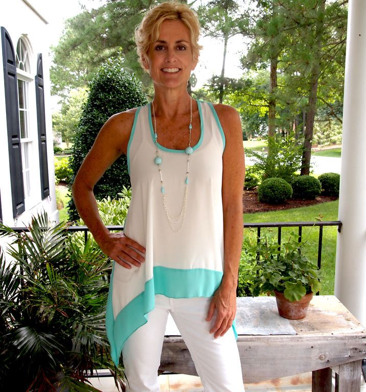 Lulu Style Shack - Color Block Top with Necklace, $34.00 (http://www.lulustyleshack.com/color-block-top-with-necklace/)