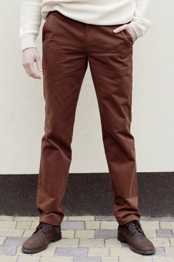 78a01e4900b625 Whiskey Brown Chinos