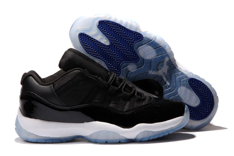 best authentic abd4e d9d89 Air Jordan Shoes Air Jordan 11 Low Black Varsity Royal White  Air Jordan 11  - This pair of Air Jordan 11 Low Black Varsity Royal White shoes feature a  black ...