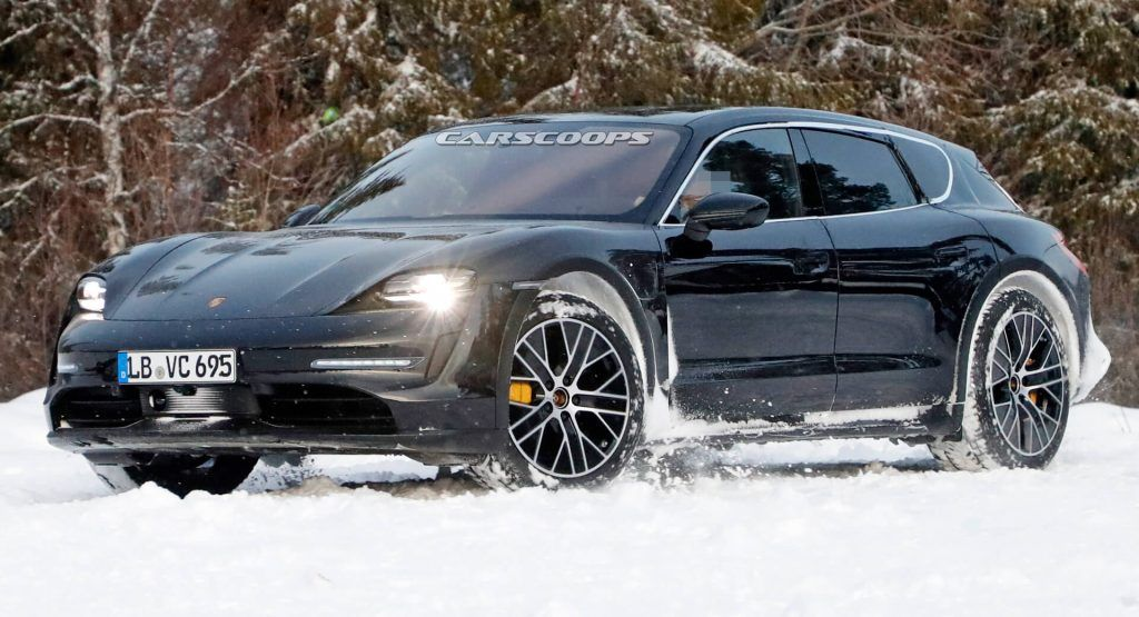 Aint Nothing Keeping Porsches Electric Taycan Cross Turismo Back From Testing The Porsche Taycan Cross Turismo Has B In 2020 Porsche Taycan Porsche Porsche Electric