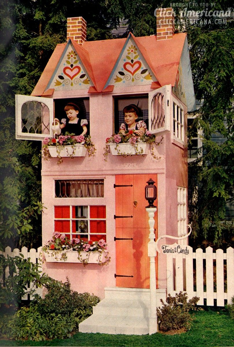 build a dream come true play house in your backyard 1962 play