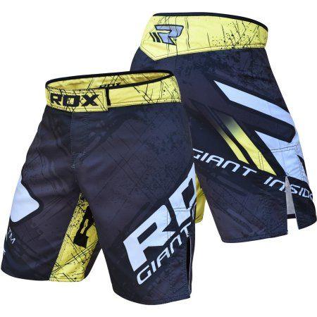 RDX MMA Shorts Grappling Boxing Short Men Muay Thai Fight Trunks Kick CA