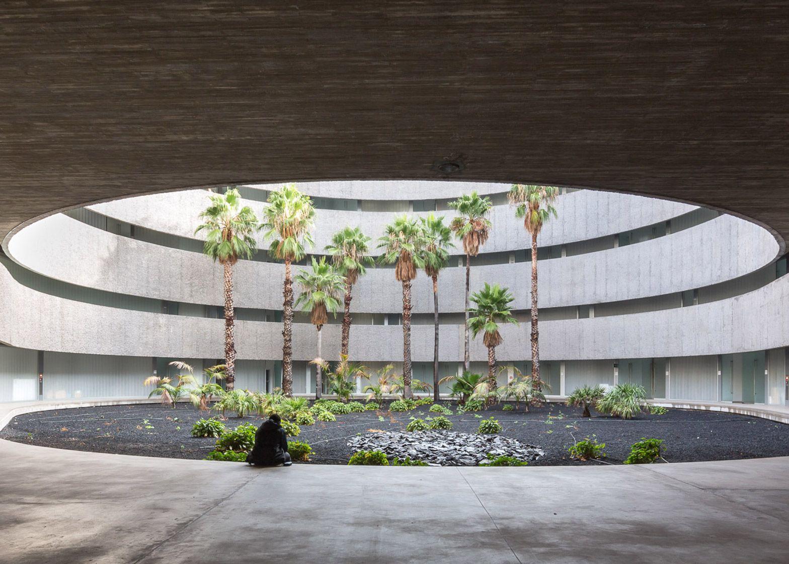 Faculty Of Fine Arts University Of La Laguna By Gpy Arquitectos  # Muebles Fenda Murcia