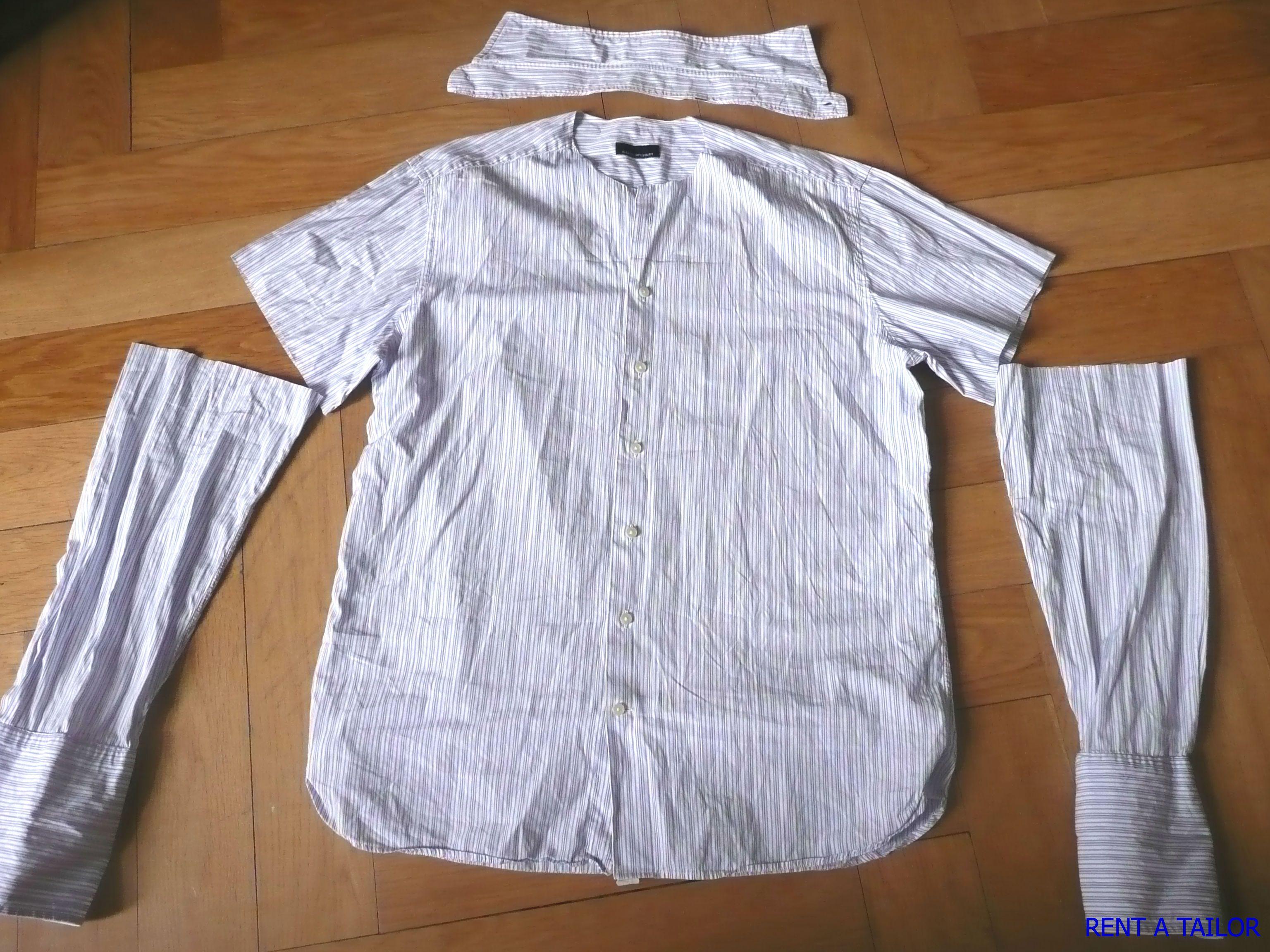 Vorher-Nachher Show oder wie aus einem Hemd eine Bluse wurde ...