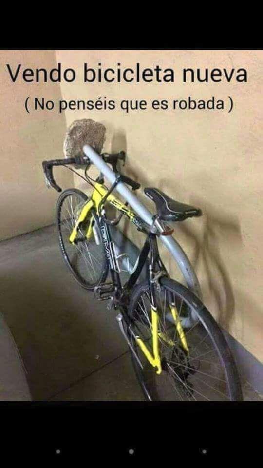 Bike for sale. Don't think it was stolen.