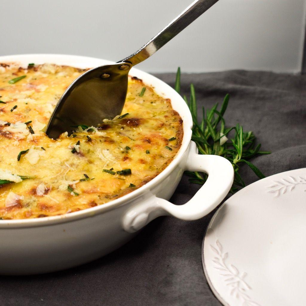 Garlic & Herb Scalloped Potatoes