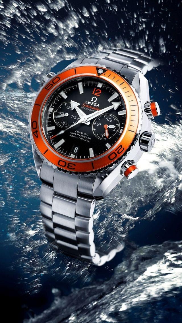 Omega Seamaster Watch Iphone 5s Wallpaper Wear It Use It
