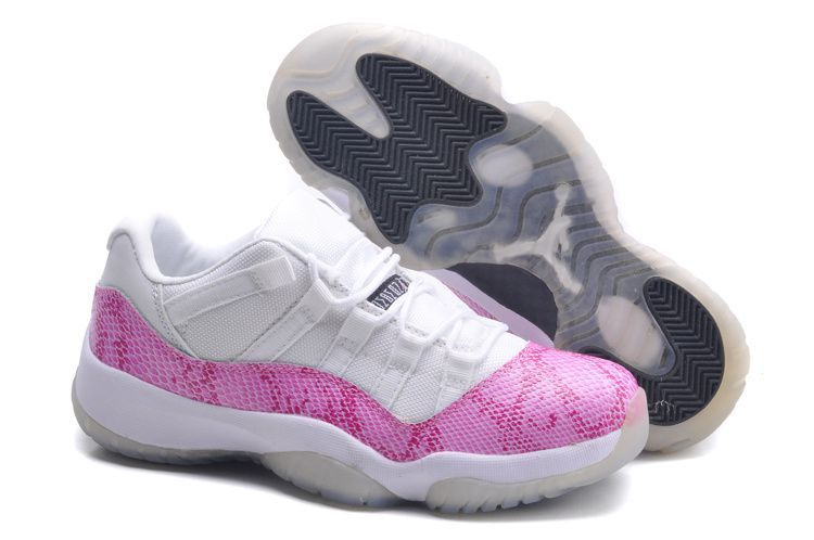 new style 444a0 07a70 femme air jordan 11 retro blanc et rose soldes,jordan 11 high bred,jordan  retro 11 high