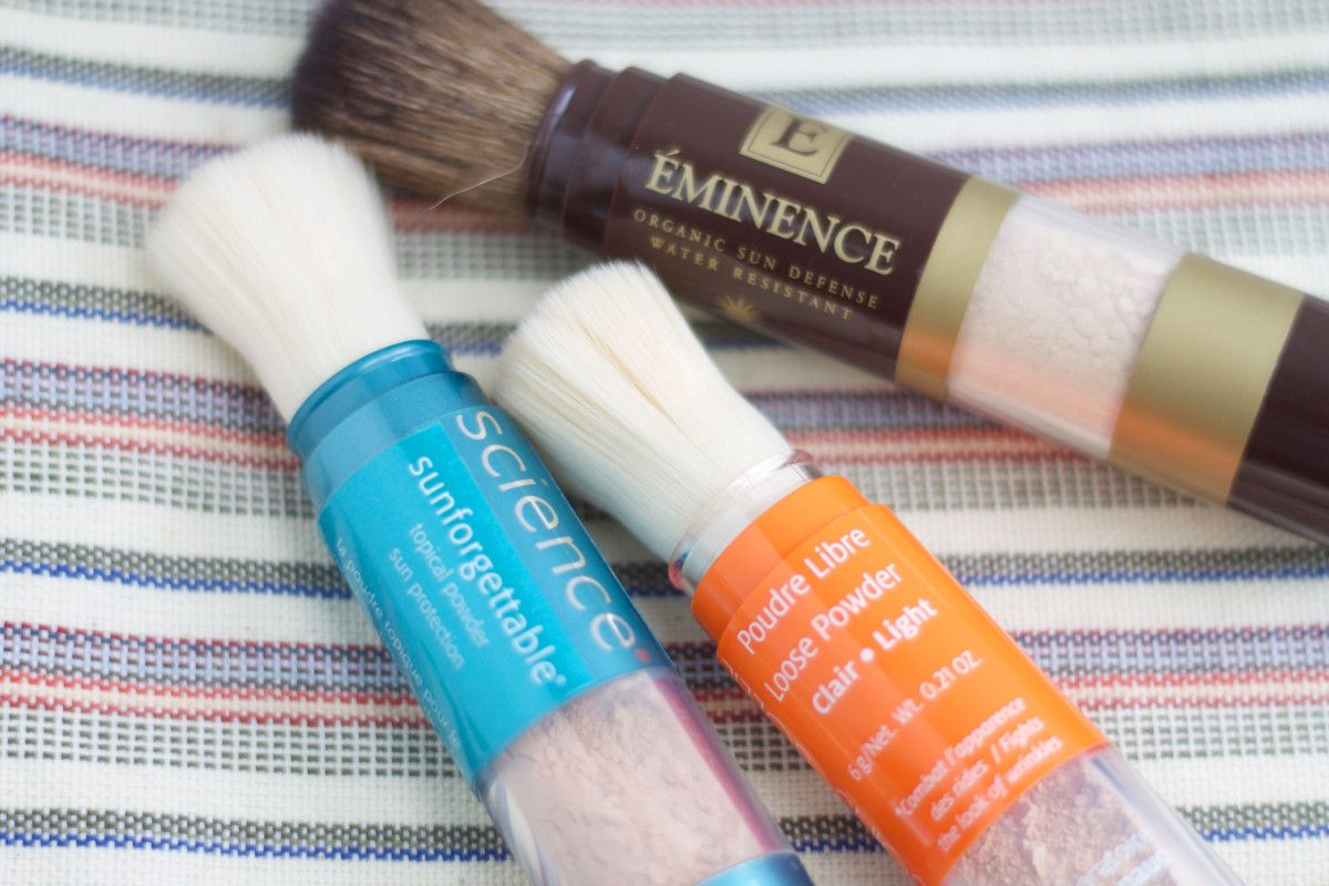 Editor's Picks 16 of the Best Mineral Powder Sunscreens