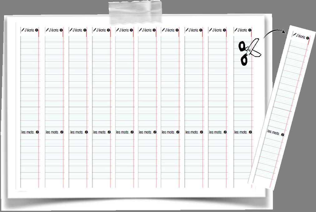 Souvent Modèles d'écriture | organisation de la classe | Pinterest  YS01