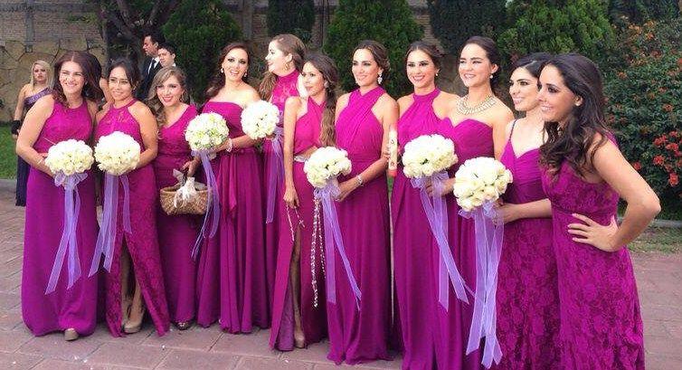 modelos iguais de vestidos para madrinhas