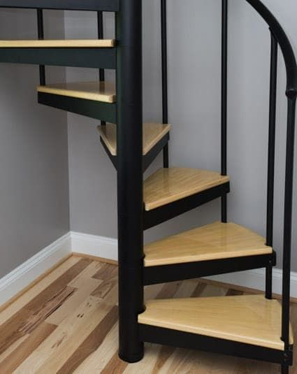 Best Classic Steel Configurable Spiral Stair Paragon 640 x 480