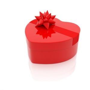 선물상자 - 하트