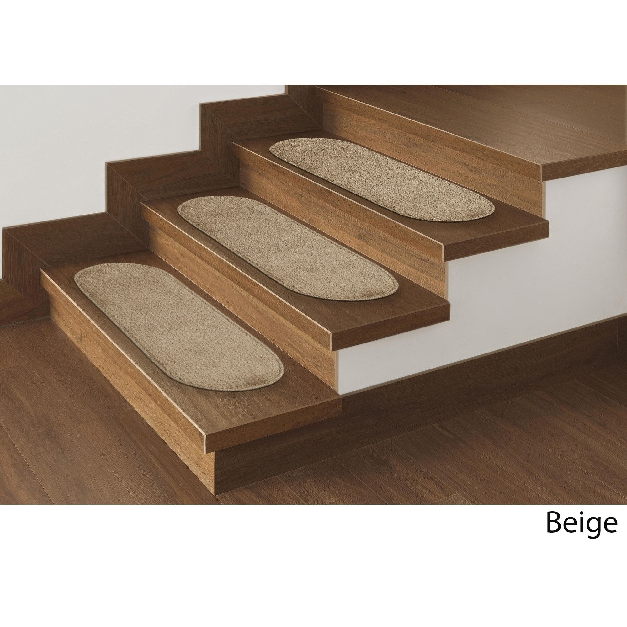 Best Ottomanson Softy Collection Oval Stair Treads Set Of 7 400 x 300
