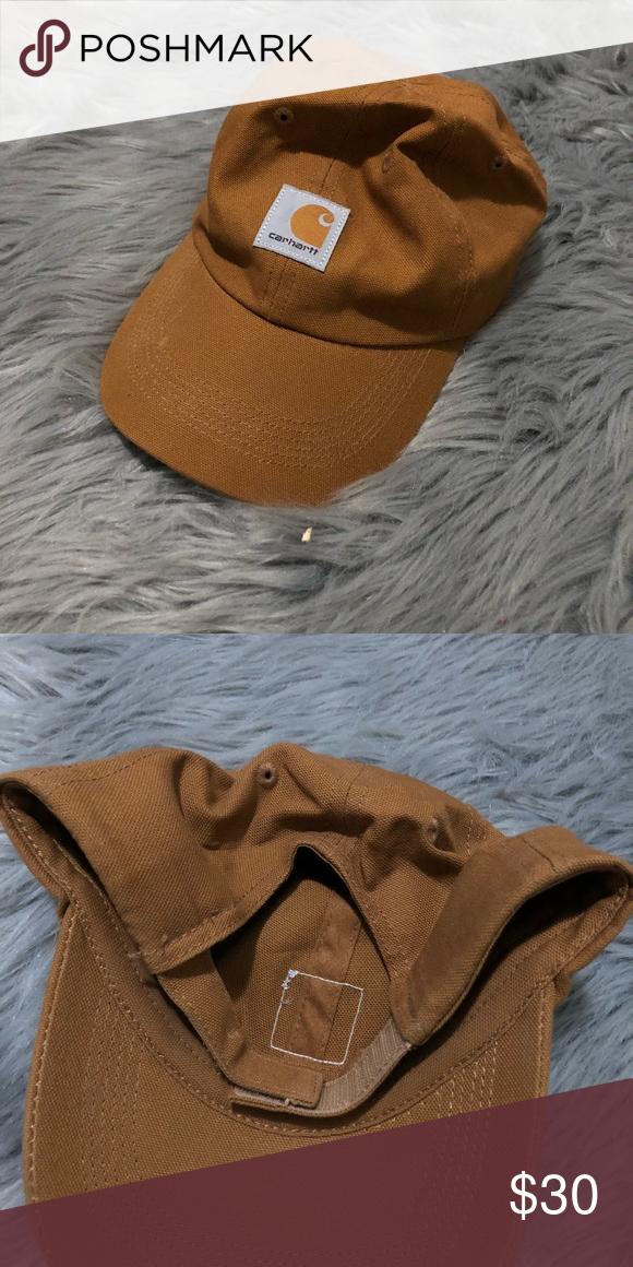 086b65d6b Carhartt dad hat adjustable back brown Badass carhartt dad hat ...