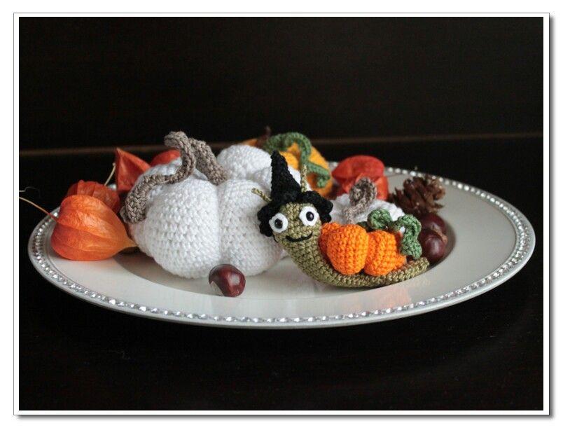 Herbst häkeln, Kürbis häkeln, #haekeldas | häkeldas.de | Pinterest ...